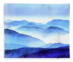 Blue Fleece Blankets
