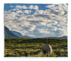 Blue Sky Monmouth  Fleece Blanket