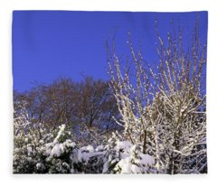 Blue Sky Fleece Blanket