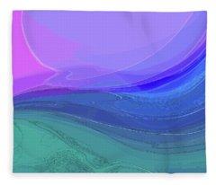 Blue Valley Fleece Blanket