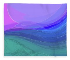Blue Valley Fleece Blanket