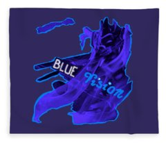 Blue Vision Fleece Blanket