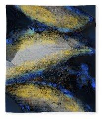 Blue Whales Fleece Blanket