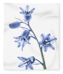 Bluebell Stem Fleece Blanket