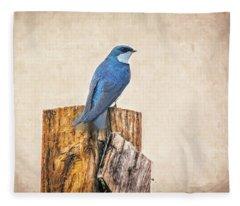 Bluebird Post Fleece Blanket