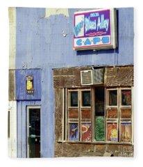 Blues Alley, Clarksdale Fleece Blanket