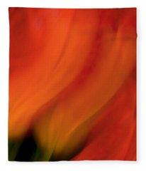 Blur De Lis Fleece Blanket