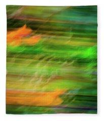 Blurred #11 Fleece Blanket