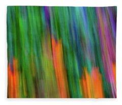 Blurred #2 Fleece Blanket
