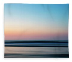 Blurred Fleece Blanket