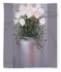 Blush - Original Artwork Fleece Blanket