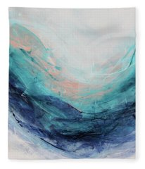 Blushing Sky Fleece Blanket