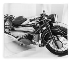 Bmw R7 1934 Prototype Fleece Blanket
