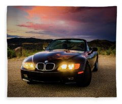 Bmw Z3 Fleece Blanket