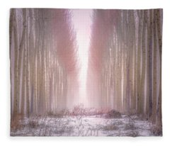 Boardman Tree Farm  Fleece Blanket