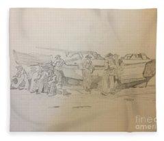 Boat Crew Fleece Blanket