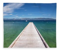 Boaters Paradise By Brad Scott Fleece Blanket