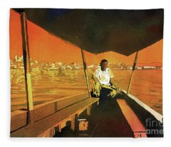 Boatman Guatemala Fleece Blanket