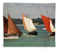 Boatshow 3 Fleece Blanket