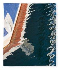 Boatside Reflection Fleece Blanket