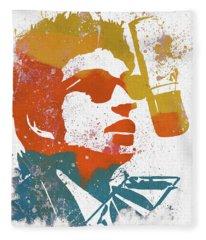 Bob Dylan  Fleece Blanket