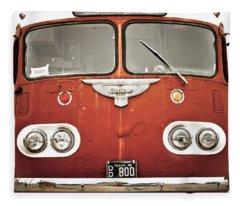 Bob Wills Bus Fleece Blanket