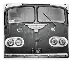 Bob Wills Tour Bus Bw Fleece Blanket