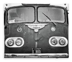 Bob Wills Tour Bus Bw Fleece Blanket
