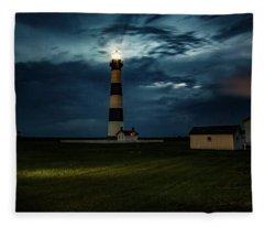 Bodie Island, Nc Fleece Blanket