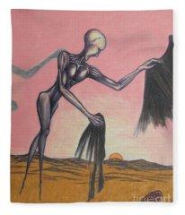 Body Soul And Spirit Fleece Blanket