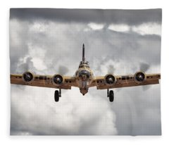 Boeing Inbound Fleece Blanket
