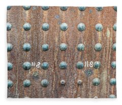 Boiler Rivets Fleece Blanket