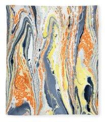 Boiling Lava Fleece Blanket