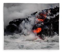 Boiling Waters Fleece Blanket