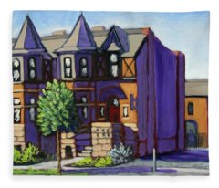 Boise  Idaho St Fleece Blanket
