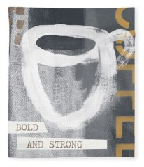 Bold And Strong- Art By Linda Woods Fleece Blanket