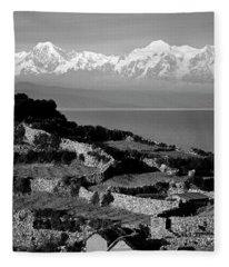 Bolivia_27-1 Fleece Blanket