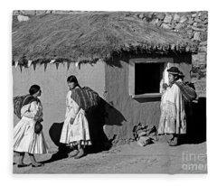 Bolivia_29-2 Fleece Blanket