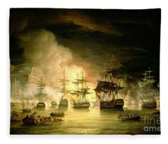 Bombardment Of Algiers Fleece Blanket