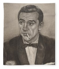 Bond From Dr. No Fleece Blanket