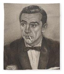 Bond From Dr. No Fleece Blanket