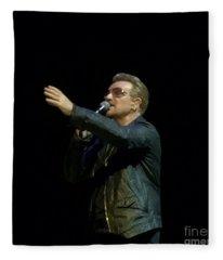 Bono - U2 Fleece Blanket