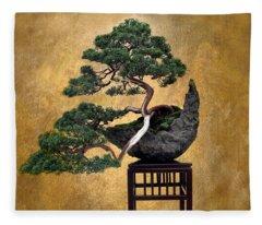 Bonsai 3 Fleece Blanket