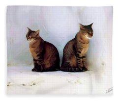 Bookends - Rdw250805 Fleece Blanket