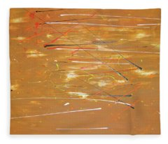 Fleece Blanket featuring the painting Born Again by Michael Lucarelli