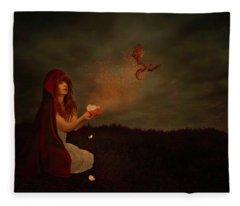 Born Of Magic Fleece Blanket