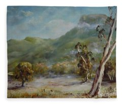 Boronia Peak Fleece Blanket