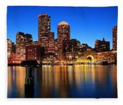 Boston Aglow Fleece Blanket