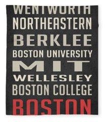 Boston Collegetown Fleece Blanket