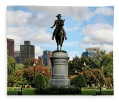 Boston Common Fleece Blanket